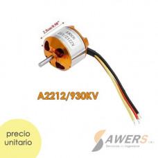 Motor Brushless A2212 930KV