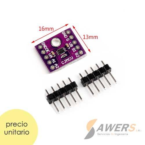 TXS0102 Conversor Nivel Logico 2bit 24Mbps