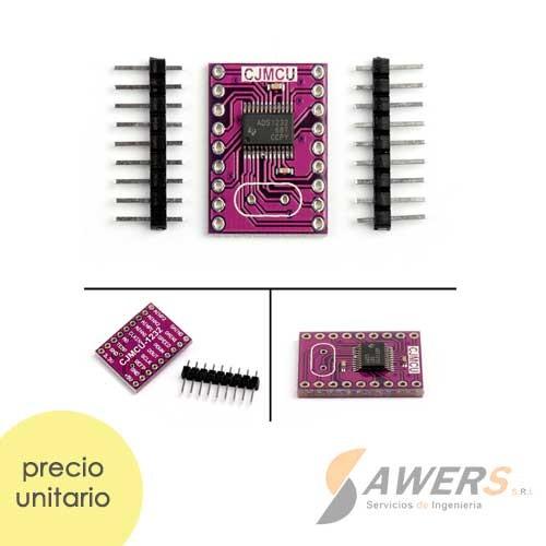 ADS1232 Conversor ADC 24bit 2CH PGA 80SPS