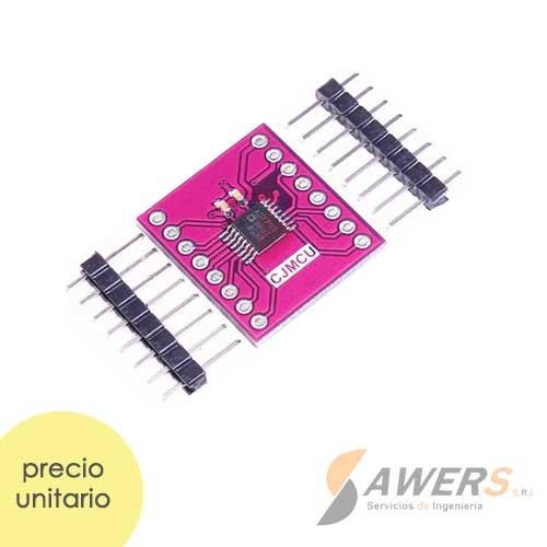 AD7793 Conversor ADC 24bit 3CH Delta-Sigma IN-AMP
