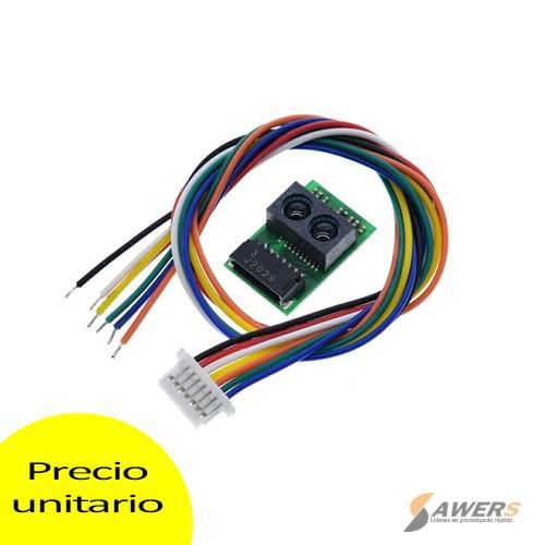 Sensor de distancia infrarrojo Sharp GP2Y0E03 4-50CM