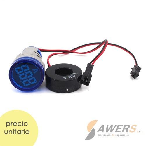 AD16-22DS Amperimetro de tablero 220VAC 100A
