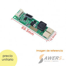 Driver Led backlight LCD CA-155 10-30VAC a 9,6VDC