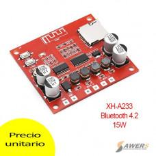 Modulo Reproductor de audio Bluetooth 4.2 15W Stereo