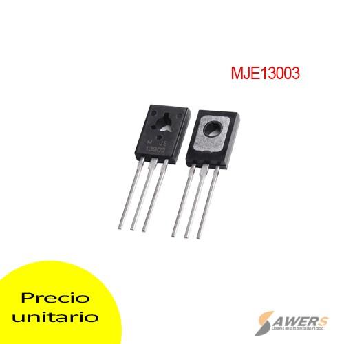 MJE13003 Transistor BJT 1.5A 400V