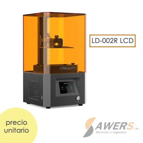 Impresora 3D Resina Creality LD-002R HD-LCD 12x6,5x12cm