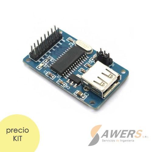 CH376S Lector de Memorias USB FAT