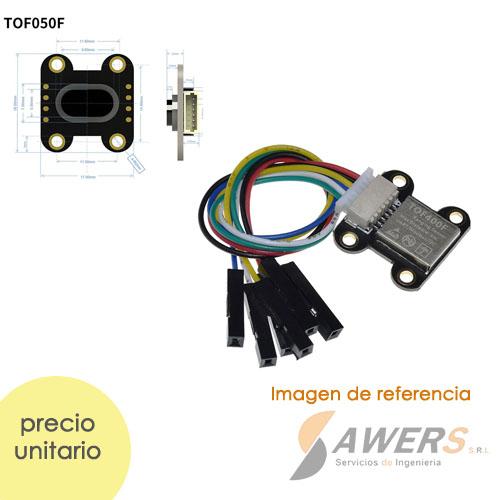 TOF050F Time-of-Flight Sensor de distancia Laser 50cm