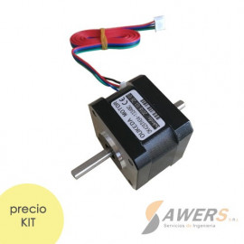 NEMA17 Stepper Motor 1.33A 32N.cm doble eje