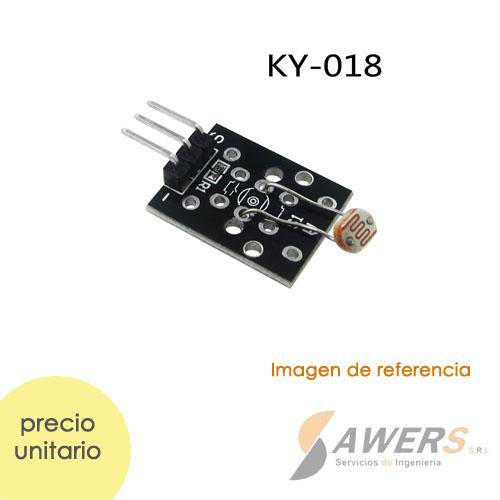 Modulo Sensor LDR KY-018 Analogo