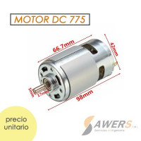 Motor Spindle 775 24V 15600RPM eje 5mm alto torque