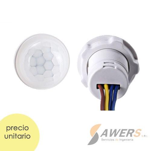 Sensor de movimiento PIR 220VAC