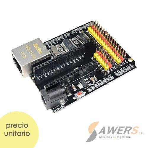 Ethernet ENC28J60 Arduino Nano Shield V2.0