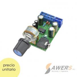 TDA2822M Amplificador de Audio Sterep 5W 12Vdc