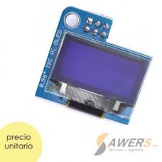 OLED PI 128x64 0.96inch para Raspberry