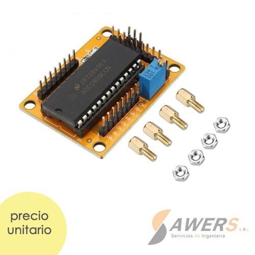 ADC0809 Conversor ADC 8Bit 8CH
