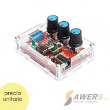 XR2206 Generador de ondas 1HZ-1MHZ (con case)