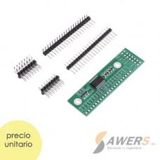 MCP23017 Modulo expansor de puertos I/O 16CH