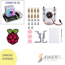 ICE-Tower RGB Ventilador de refrigeracion Raspberry PI