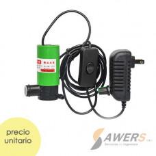 Bomba de Agua sumergible 7L/min 12V 40W 10Mts