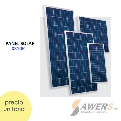 Panel Solar 10W 415x245x17mm 16.5V policristalino