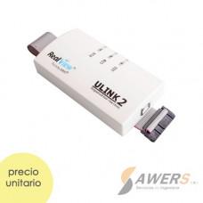ULINK 2 USB-JTAG  Depurador ARM7/ARM9