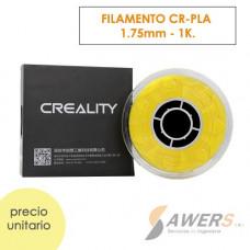 Filamento Creality CR-PLA Amarillo 1.75mm - 1Kg
