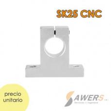 SK25 CNC Eje de Soporte XYZ 25mm