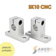 SK10 CNC Eje de Soporte XYZ 10mm