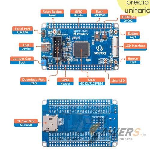 SeeedStudio GD32VF103VBT6 RISC-V