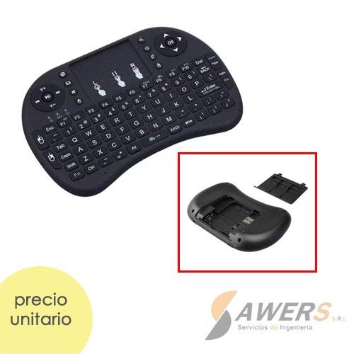 Mini teclado touchpad USB 2.4Ghz para Raspberry Pi