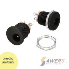 Conector Power Jack Hembra tablero 5.5-2.1mm