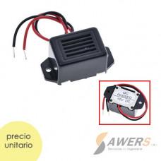 Mini Zumbador alarma constante 12V 85dB