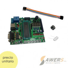 AT89S52 Microcontrolador Trainer C8051