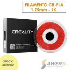 Filamento Creality CR-PLA Rojo 1.75mm - 1Kg
