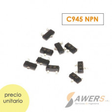C945 Transistor NPN 50V 300Mhz 400hFE smd