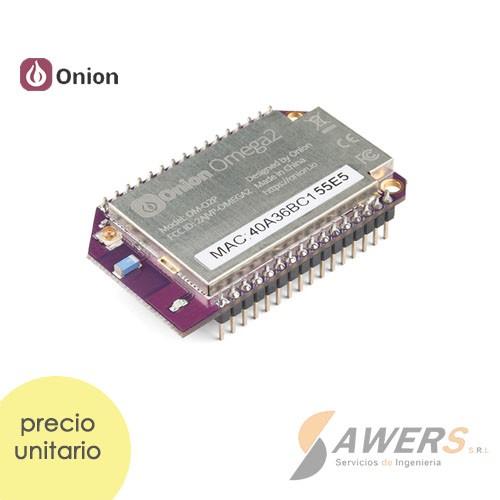 Onion Omega2 Linux PC IoT Wifi integrada