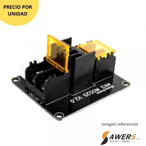 Caja de pedal de guitarra de aluminio 122x63x39mm