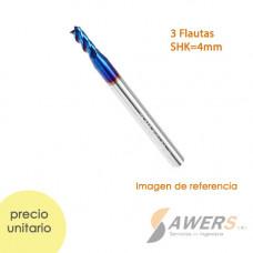 Caja de proteccion de circuitos de aluminio 50x50x30mm