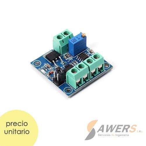 Modulo conversor de PWM a  0-10V