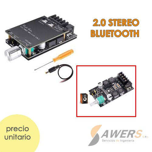 ZK-502C HiFi TPA3116 50WX2 Bluetooth Stereo 5.0
