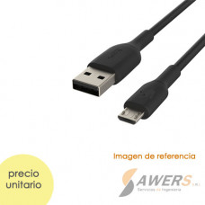 Cable USB tipo A a MicroUSB (1Mts)