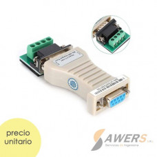 UT-2201 Adaptador RS232 a RS485 DB9