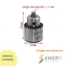 Mandril Collet ID=6mm  Nut ID=2MM portabroca 0.3-4m
