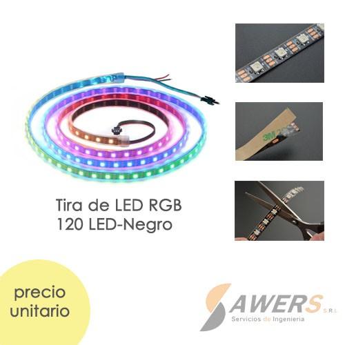 Tira Led RGB WS2812 120-led 2Mts