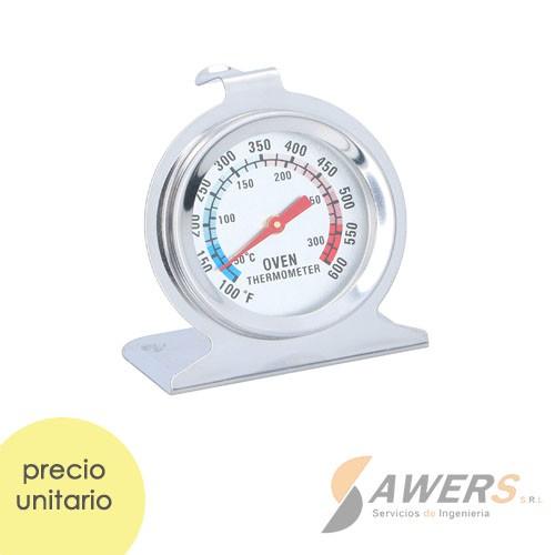 Termometro para horno 50-300grados