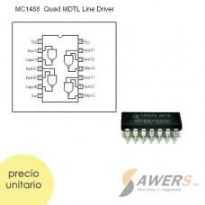 SN75188 MC1488 Driver de linea 4CH DIP