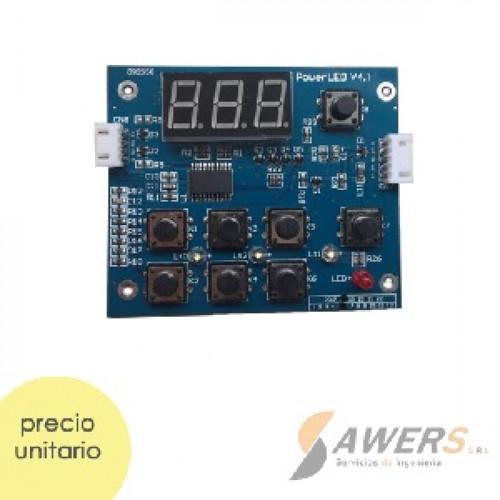 Panel tactil digital V4.0 para CNC Laser 2030 40W