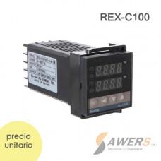 REX-C100 Controlador Digital PID Termocupla 220VAC