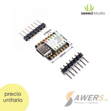 Microcontrolador Seeeduino XIAO SAMD21 Cortex M0 + Arduino IDE